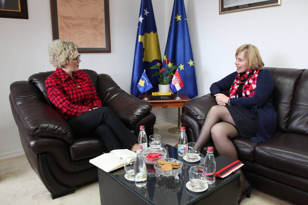 Kosovo benefits from the Croatian experience in European integration process