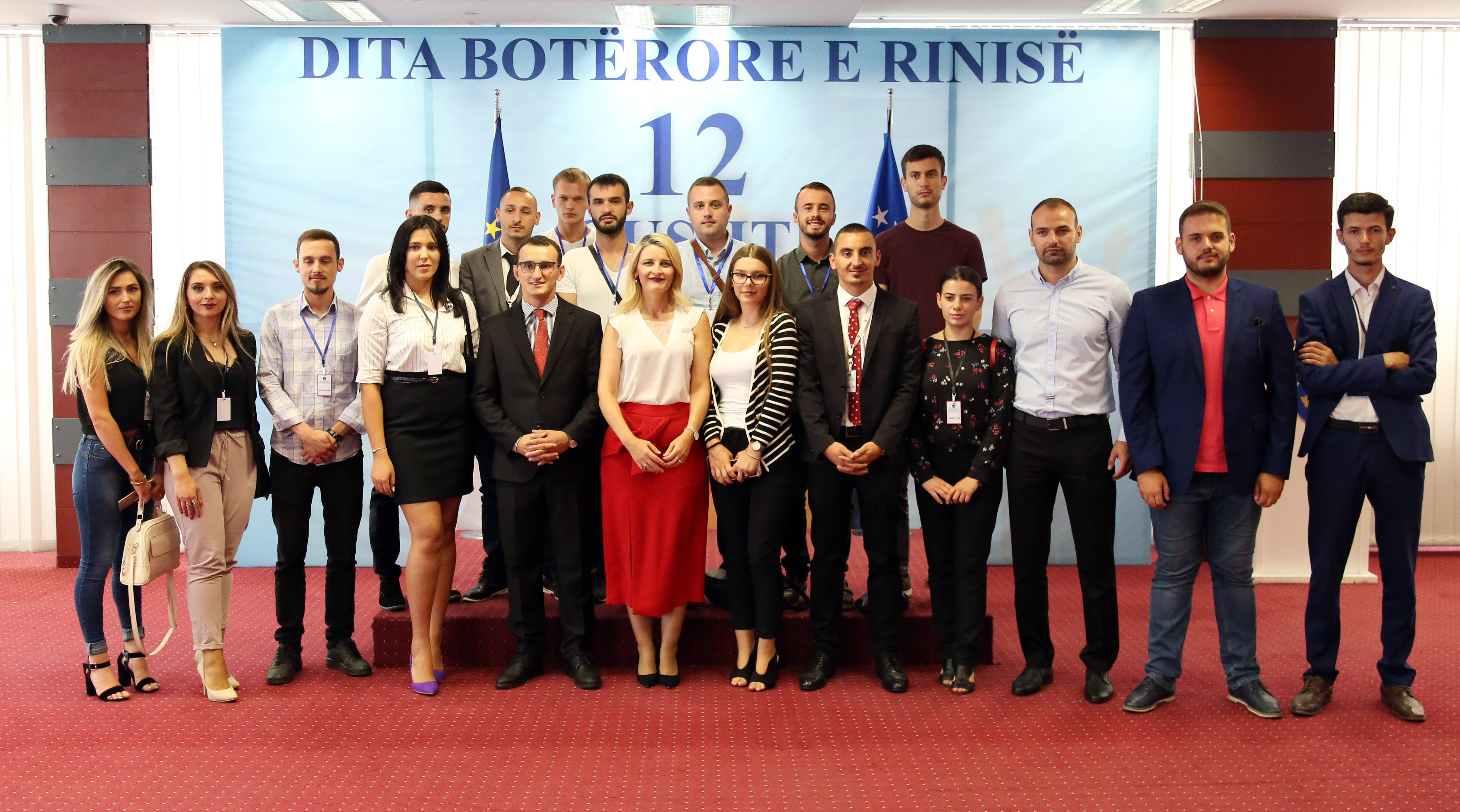 Minister Hoxha: Our youth is gifted and ready to compete in the international labour market