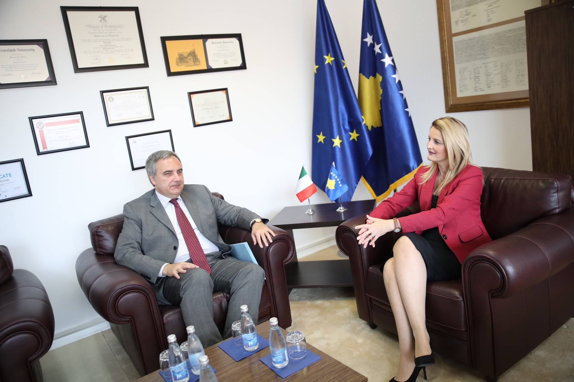 Minister Hoxha: Institutions to fulfil the obligations of the European agenda