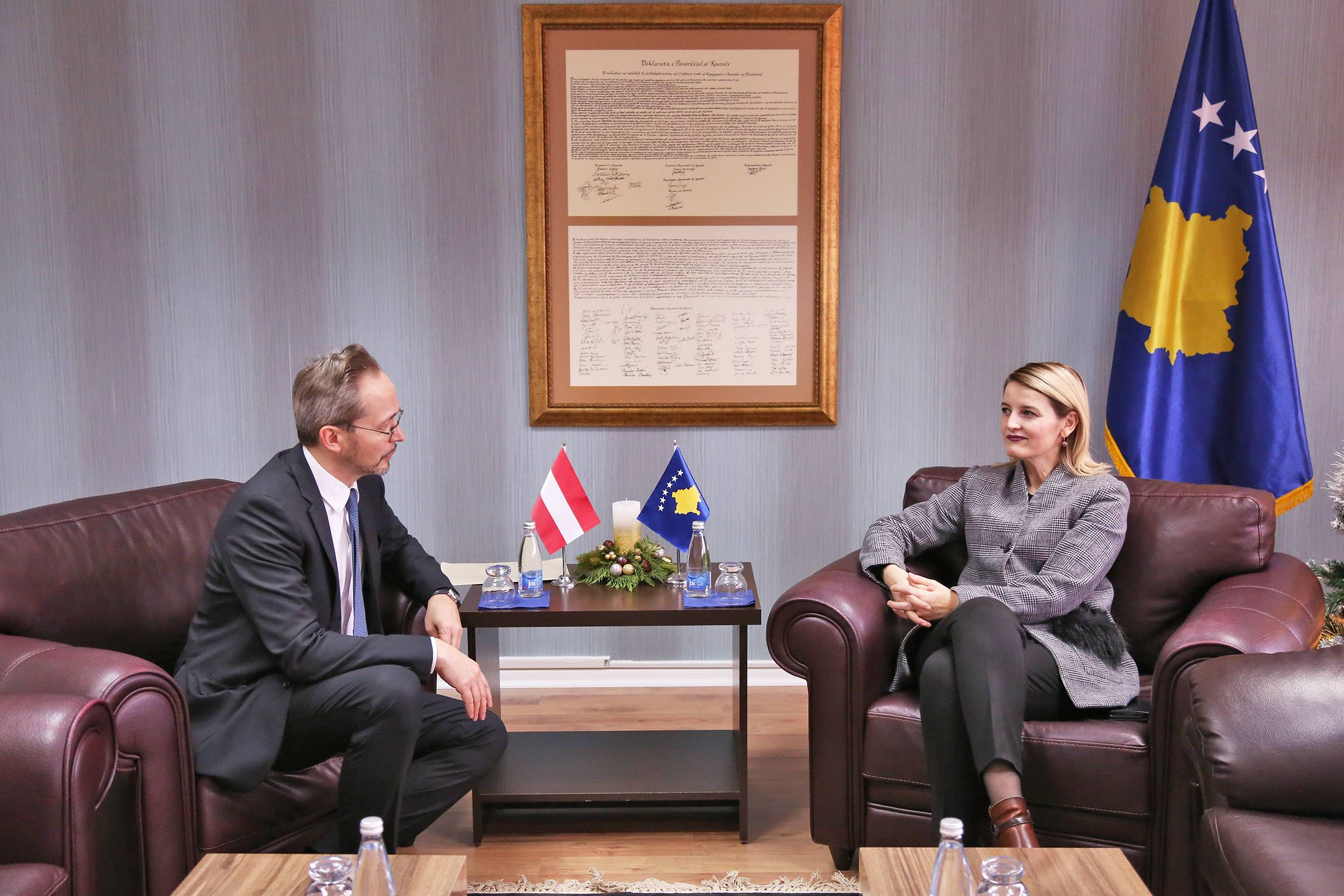 Minister Hoxha: Austria has been, is and remains a loyal ally of Kosovo