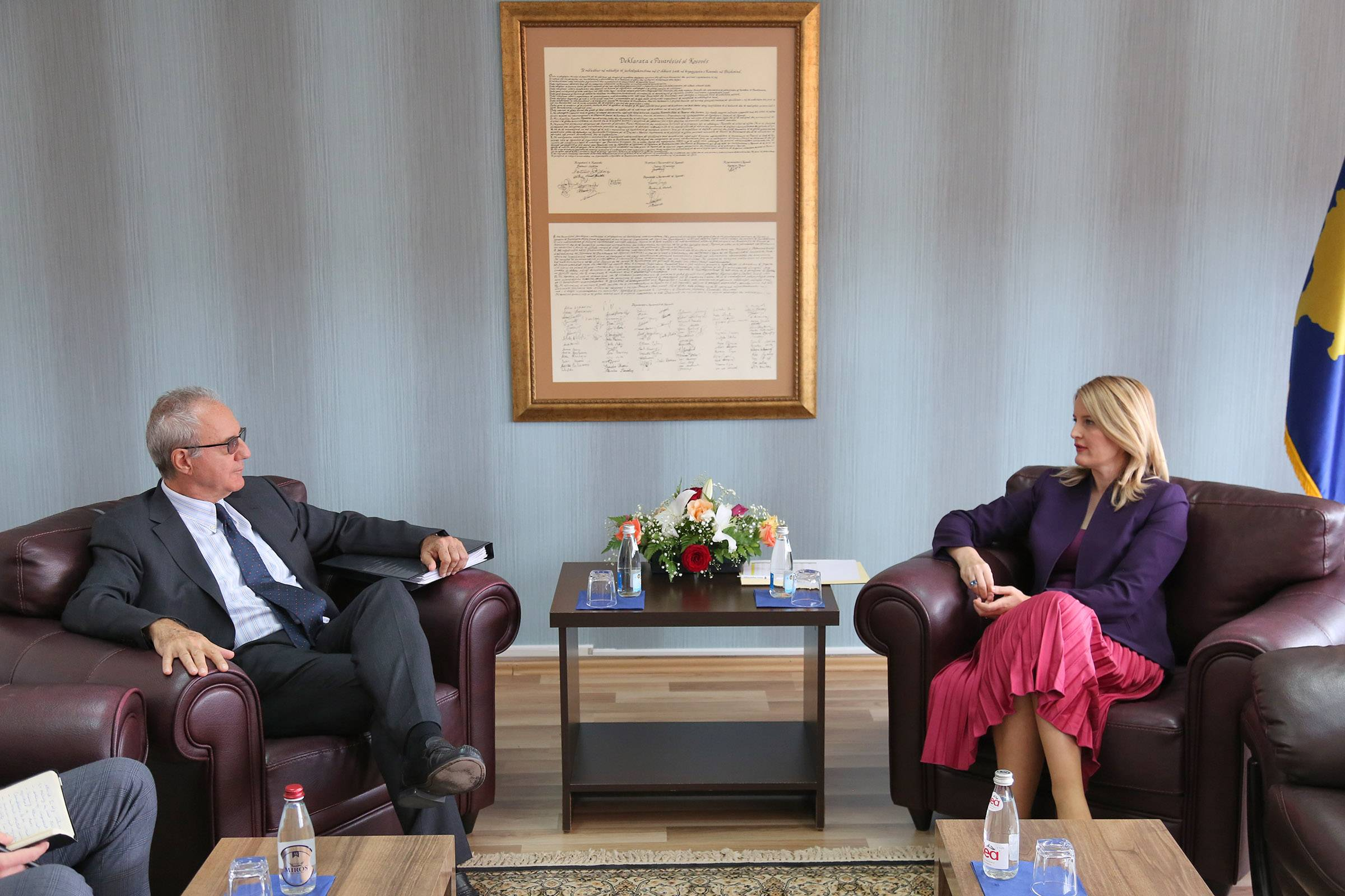 Minister Hoxha in the meeting with Mr. Brusa: The dynamics of the implementation of the SAA and EU-funded projects will be intensified