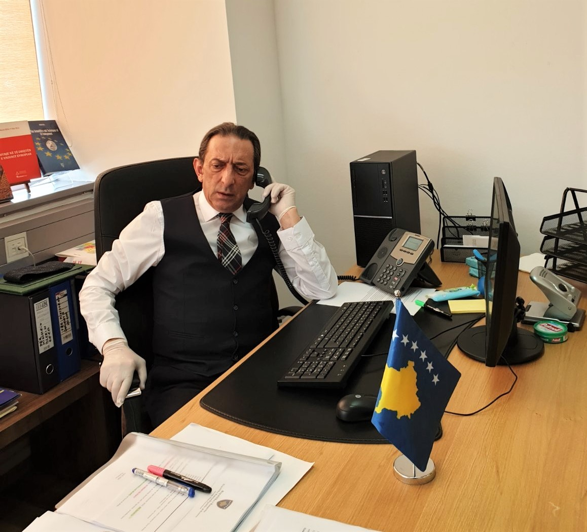 Telephone conversation of the two Ministers of Albania and Kosovo